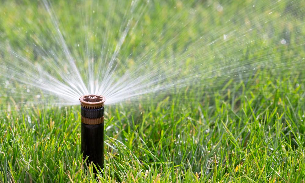 how does a sprinkler system work?